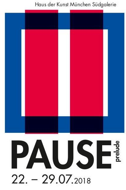 PAUSE prelude, 2028, Plakat
