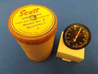 Scott aerotherm free-air thermometer