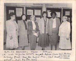 Key Womens Democrat Club Officer Photo