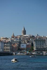 Galata Tower from the Boshphorus Strait