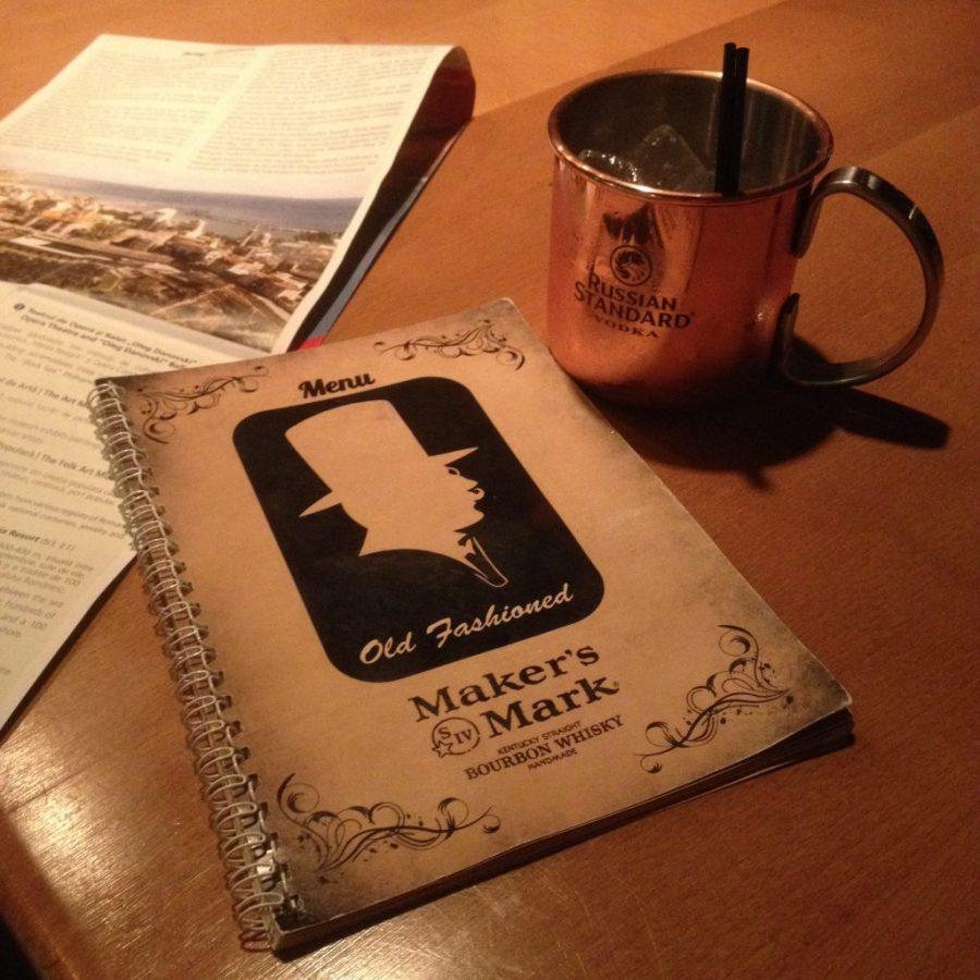"""pub steampunk """"old fashioned"""" Costanza (Romania)"""