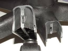Riparazione sedia da ufficio: Base a 5 razze in metallo cromato di linea arrotondata compreso istruzioni di montaggio in videochiamata (30 min.)