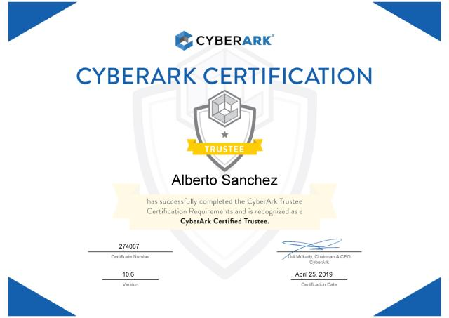 cyberark trustee