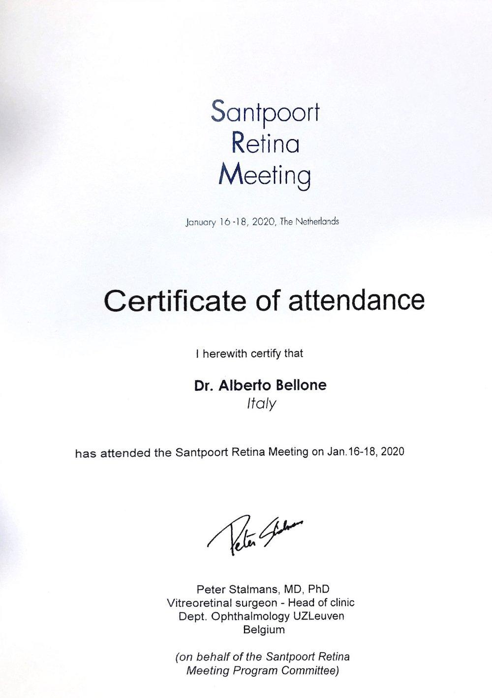 Santpoort Retina Meeting 2020