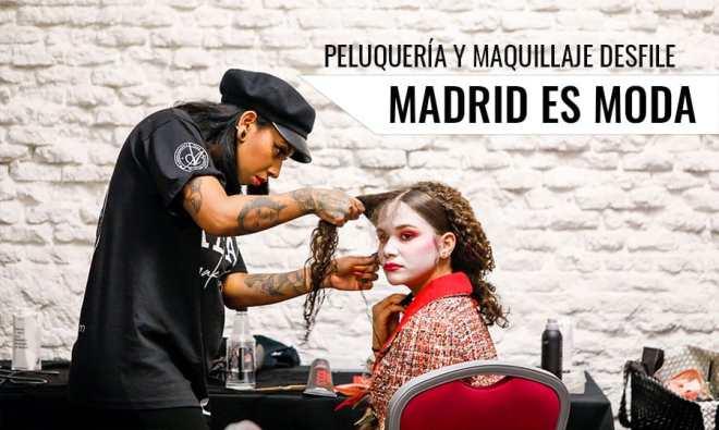 Desfile Madrid es Moda Maria de España con el diseñador de moda Adolfo Pardo.