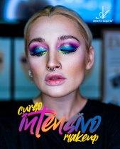 Un Curso Intensivo de Maquillaje 30h en Madrid. Del 27 al 31 de Julio de 11:00h a 18:00h con 1h para el almuezo.  Foxy Eyes Ahumado Novias Tratamiento de la Piel Super Eyeliner