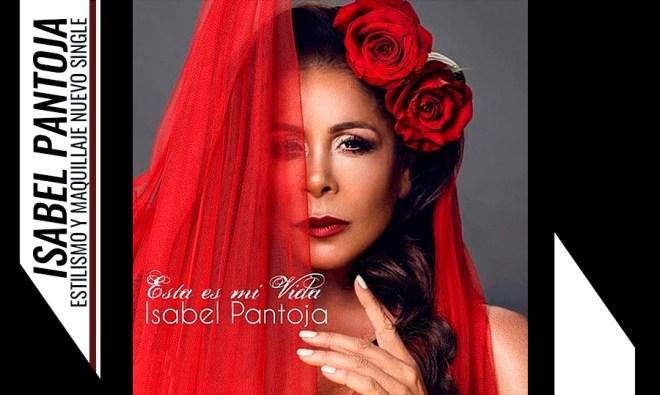 Peluqueria y Maquillaje Isabel Pantoja. Creación del estilismo del nuevo single de isabel pantoja.