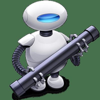 Carpeta automática de conversión de imágenes