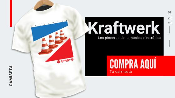 Compra aquí tu camiseta Kraftwerk