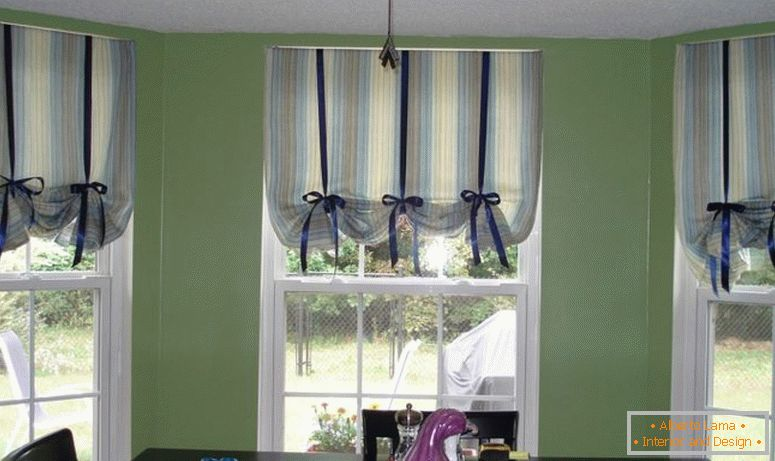 curtains in the kitchen 100 photos of