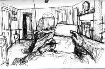 Sketchbook E 5 - Applewood Farm Inn, Mystic, CT