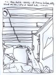 Sketchbook R 14 - Catskills, Andes, New York