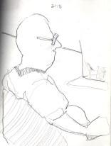 Sketchbooks B 6 - Jazz Club - Miami, FL