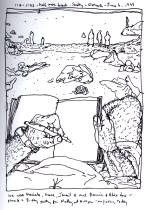 Sketchbooks P 7 - Half Moon Beach, Gloucester, MA