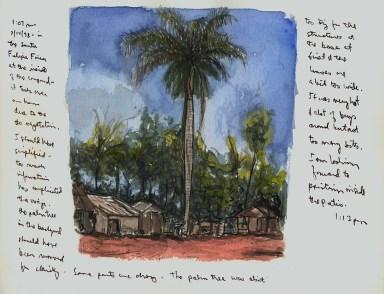 Sketchbook Q 8 - Finca Santa Felipa, Agramonte, Cuba