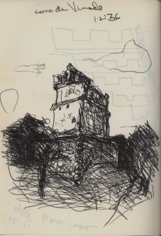Sketchbooks F 4 - Casa de Venado Chicken - Itza, Mexico