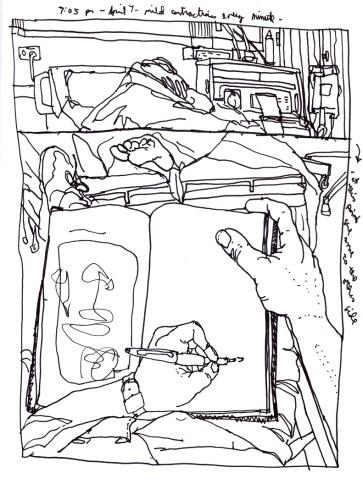 Sketchbooks K 47 - Hamot Hospital - Erie, PA