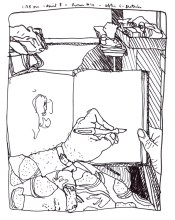 Sketchbooks K 51 - After C-Section - Hamot Hospital - Erie, PA