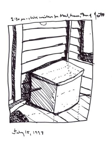 Sketchbooks - Mail Box - Dunkirk, NY