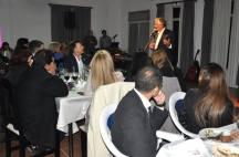 Imágenes de la cena del Gobernador con los docentes de la Región Educativa V