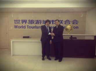 Incontro al World Tourism Cities Federation - Pechino