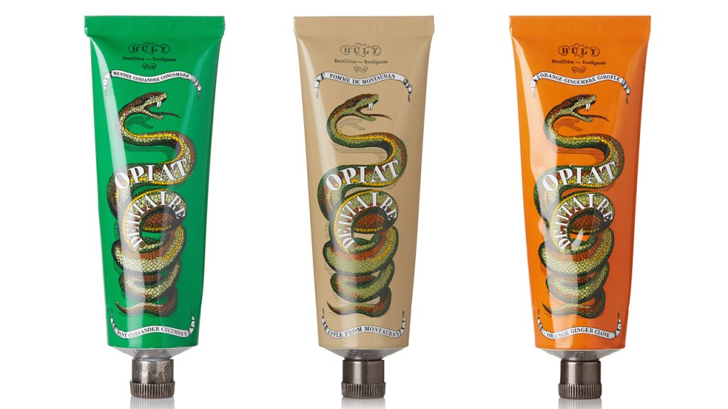 buly 1803 natural luxury toothpastes