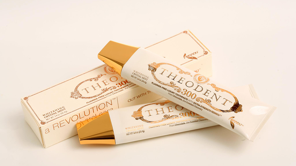 theodent 300 natural luxury toothpaste