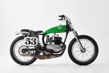 The Fuel Green Wasp OSSA motorcycle