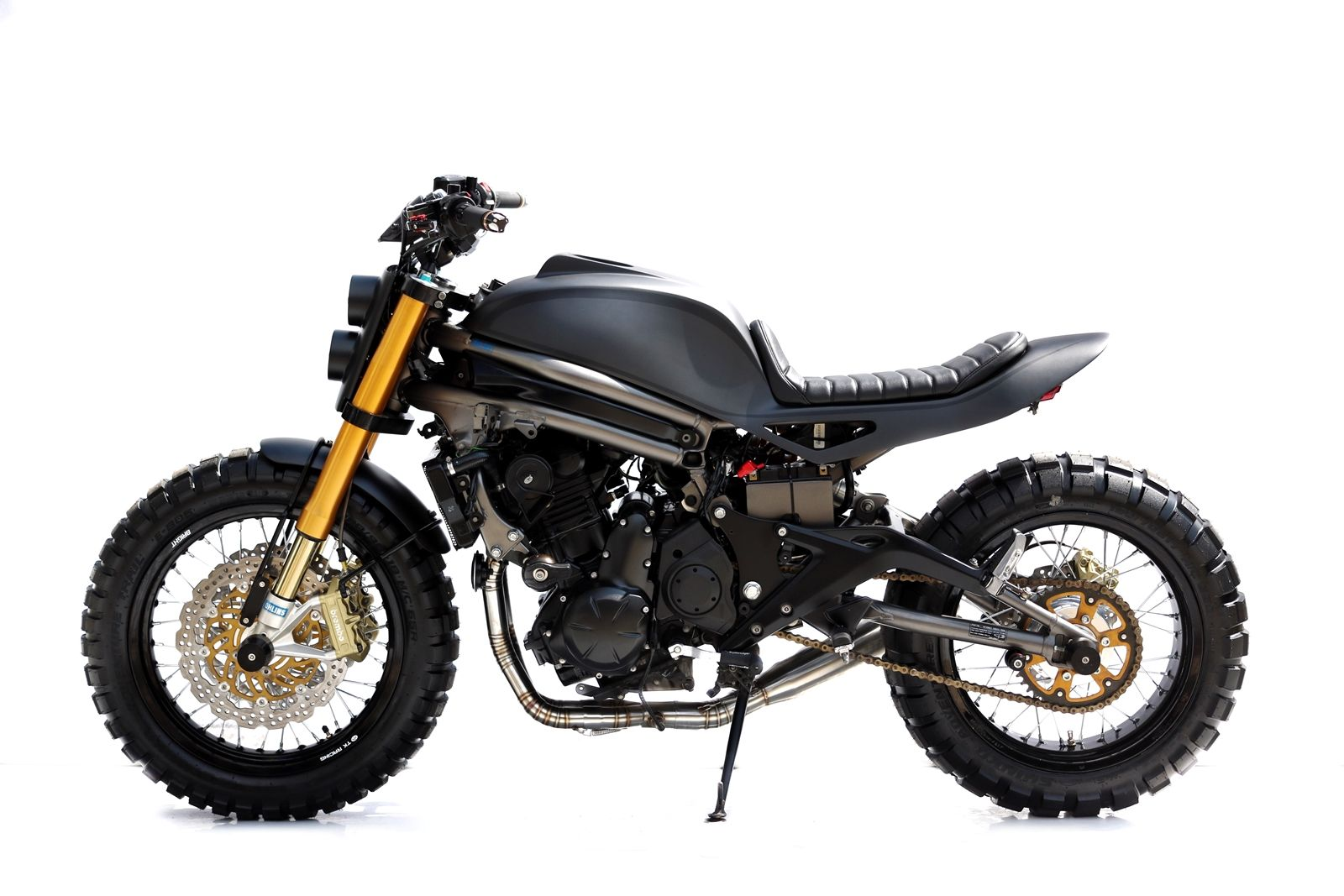 Studio Motor Kawasaki Ninja 650 Motorcycle