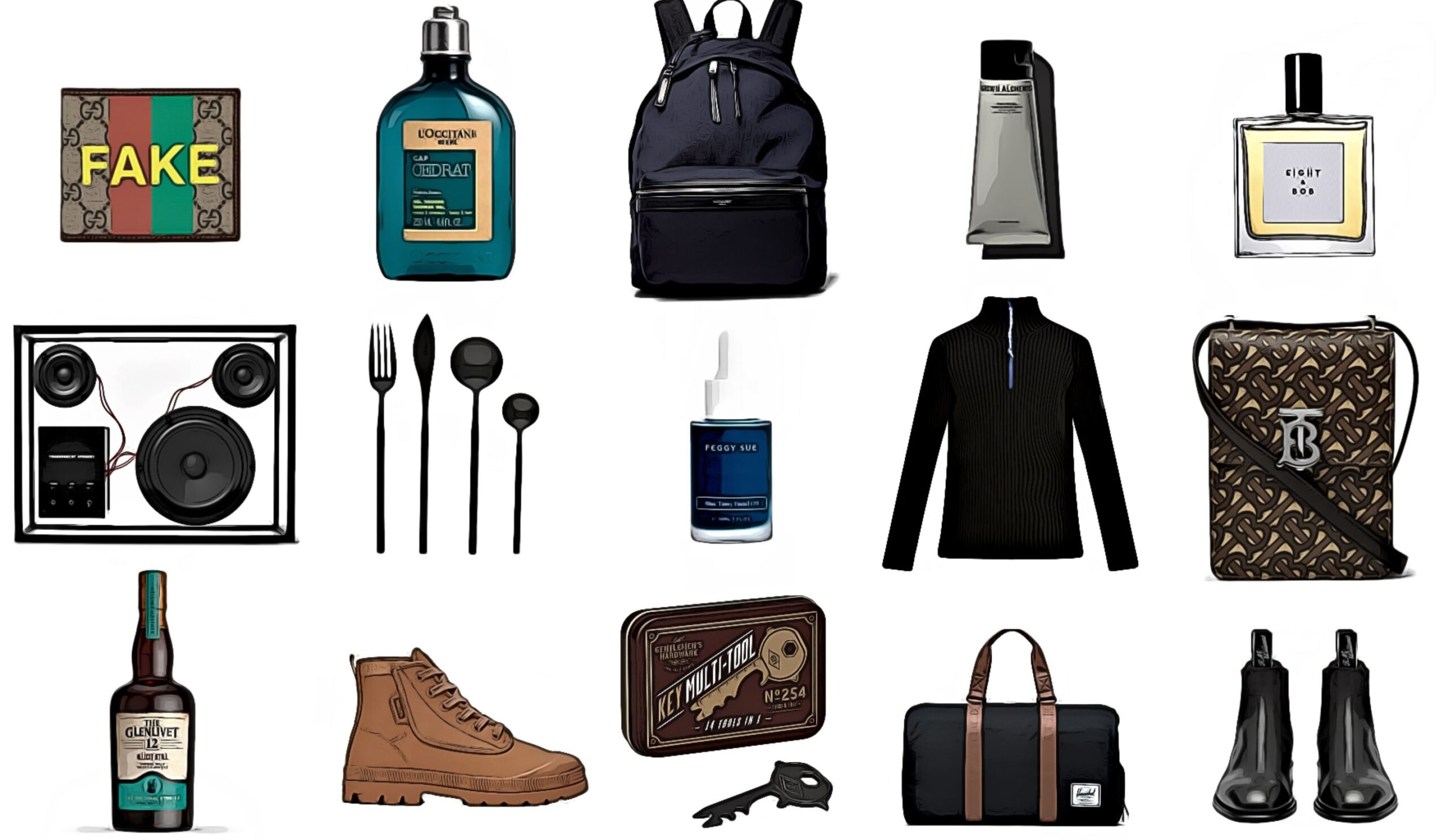 mens christmas gift guide 2020 stylish practical skincare grooming fashion fragrance footwear shoes alcohol