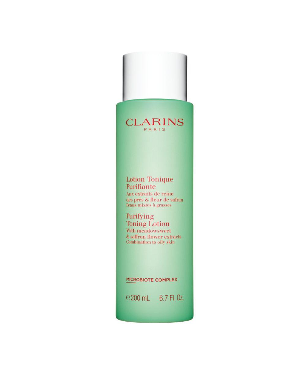 clarins cleansing toning range purifying