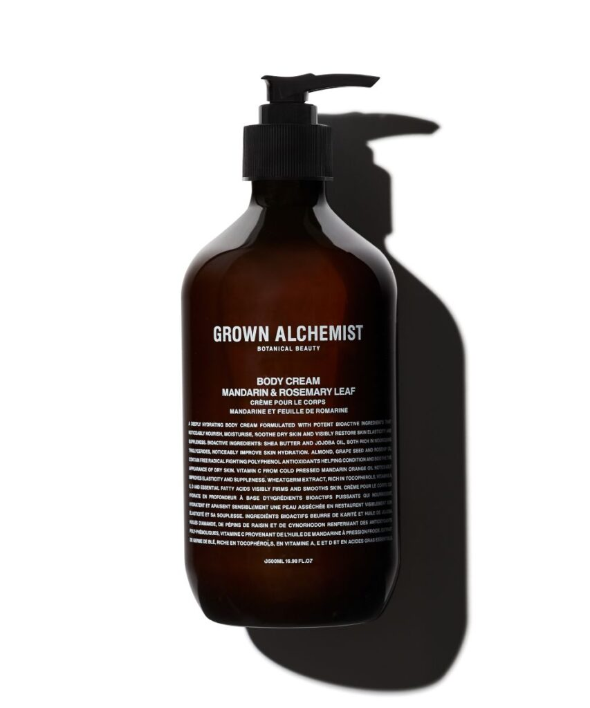 grown alchemist body cream micro luxury bathroom essentials
