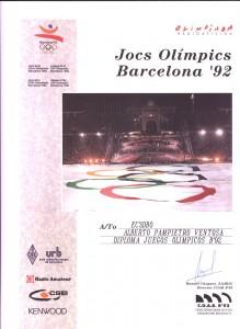 Diploma Olímpico