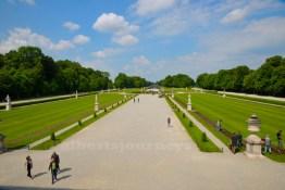 Nyphemburg Palace's garden