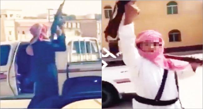 الإطاحة بصاحبي واقعة حمل السلاح في الرياض