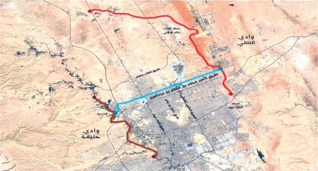الملك سلمان يوجه بتسمية أحد أهم طرق الرياض باسم الأمير محمد بن سلمان