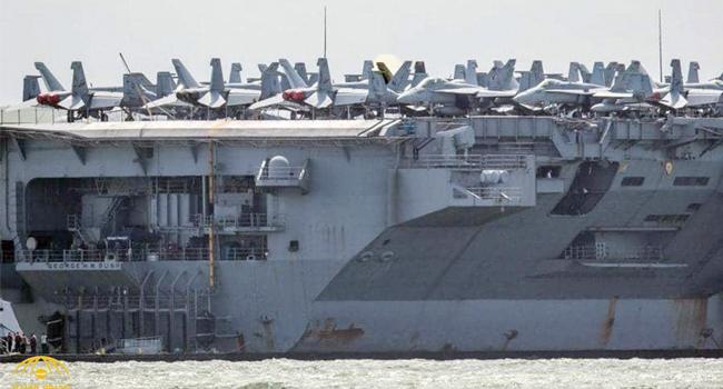 إيران تستنفر وكلاءها بالمنطقة .. وتحذير أميركي للطائرات فوق الخليج
