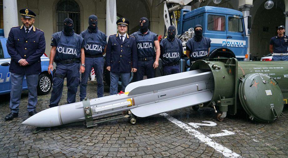صواريخ قطرية في إيطاليا