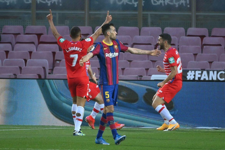أهداف برشلونة وغرناطة