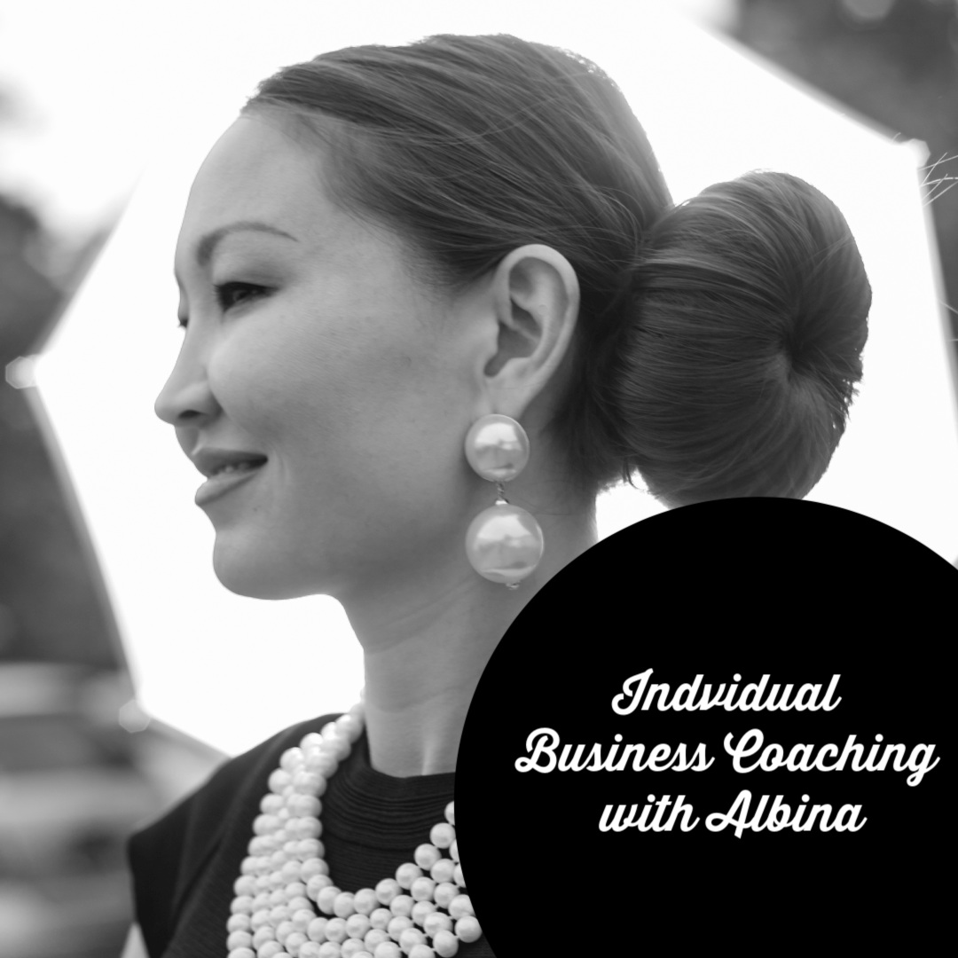 Individual Business coaching with Albina Rippy