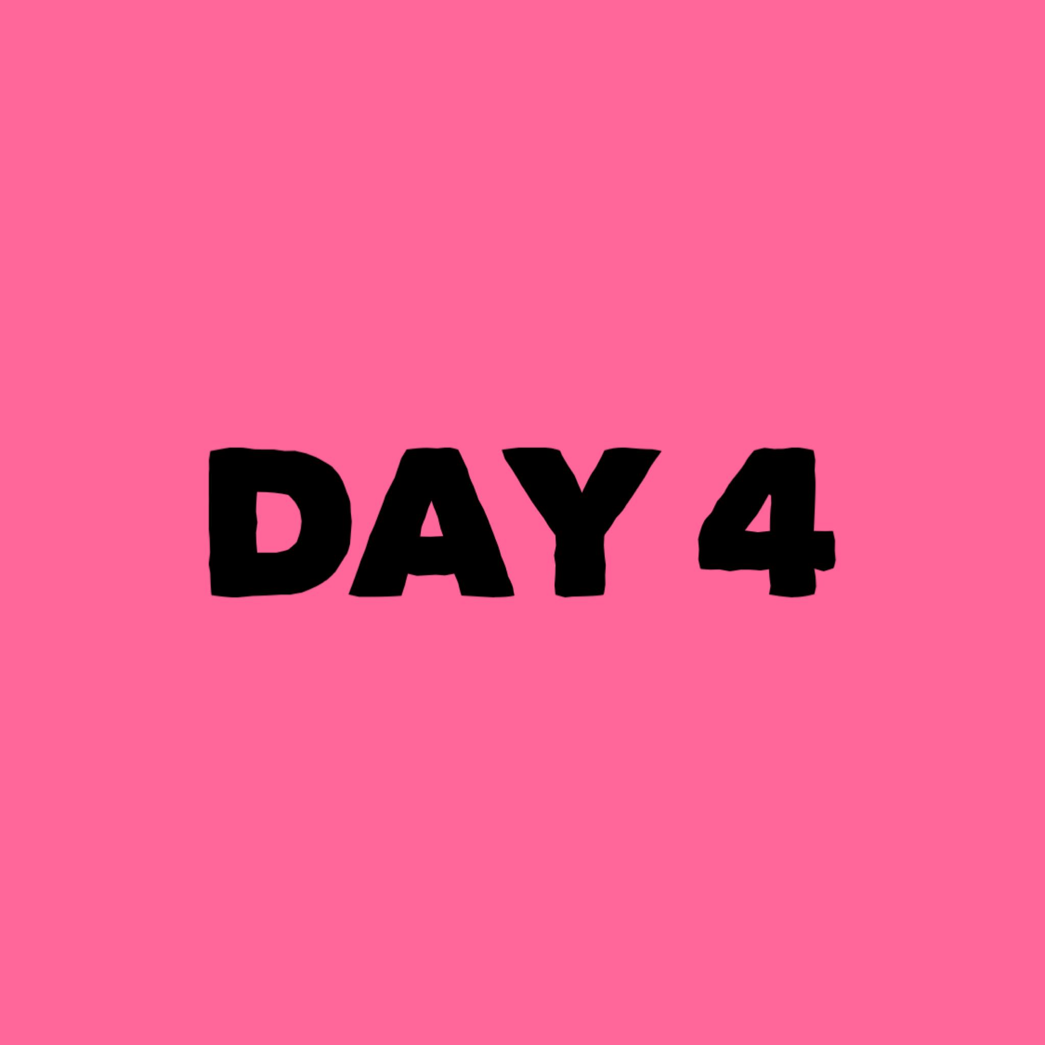 Day 4 of Abundance