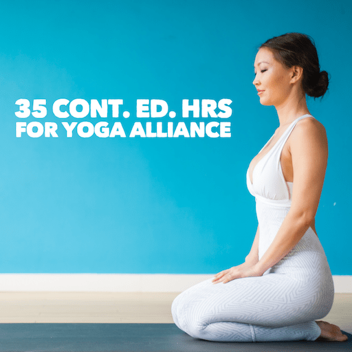 35 continuing education hrs Yoga Alliance