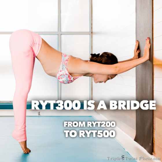 RYT300 Bridge to RYT500