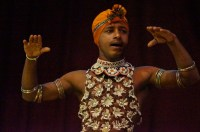 Kandy -traditional dance performer