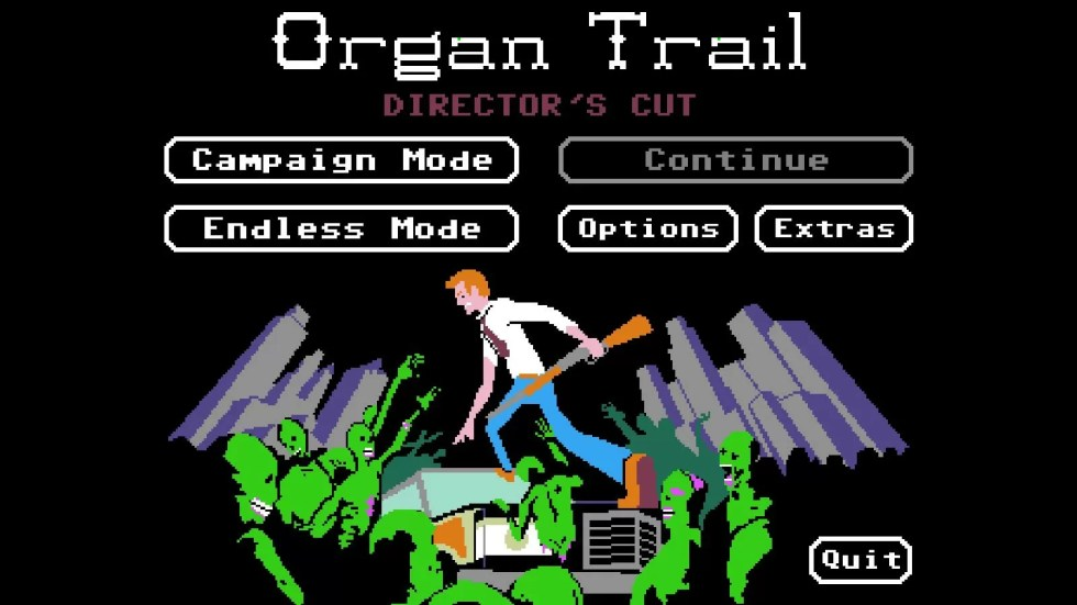 the organ trail