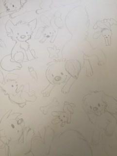Random dogs and bunnies