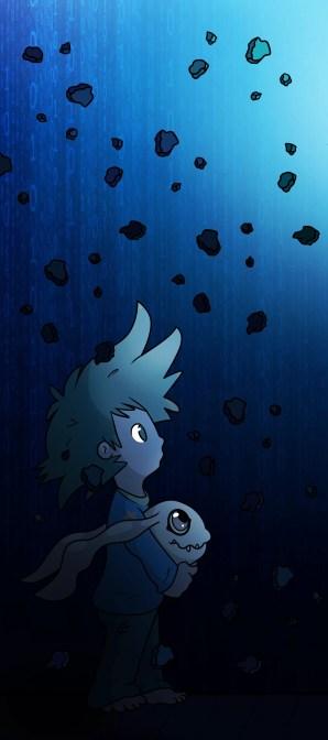 Digimon - Tai and Koromon fan art