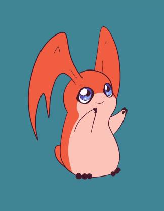 Patamon - Digimon fan art