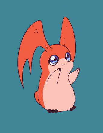 Patamon - Digimon fan art