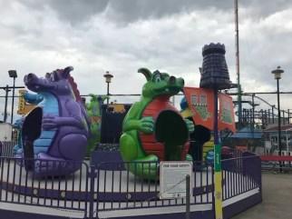 Dragon ride at Coney Island